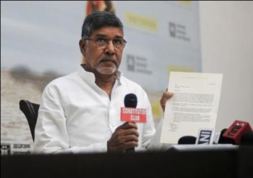 Children worst sufferers in drought-hit areas, says Satyarthi