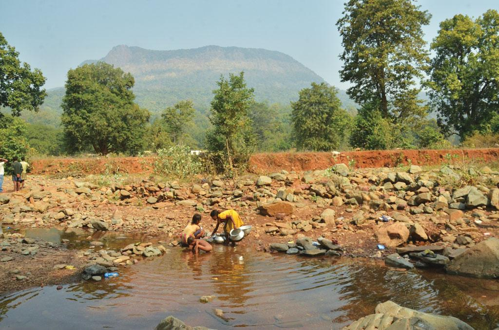 Mining threatens all habitats lying within the 10 km radius of the Khandadhar mountain (Photographs: Anupam Chakravartty)