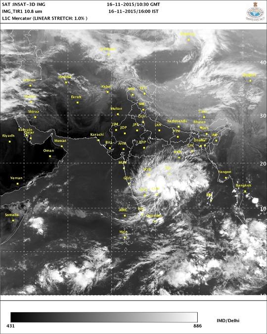 Chennai struggles as rains lash Tamil Nadu for second time in a week