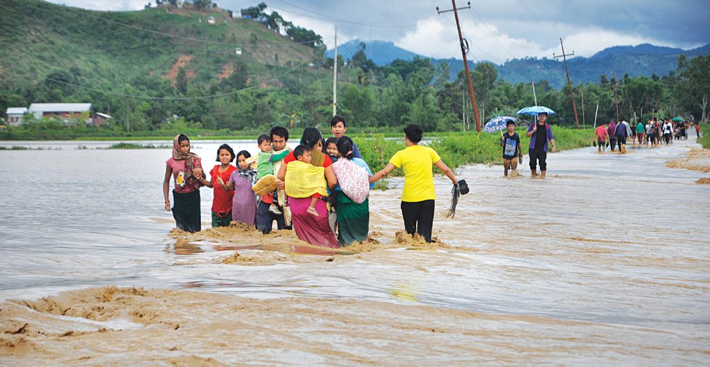 Why Manipur is flooded