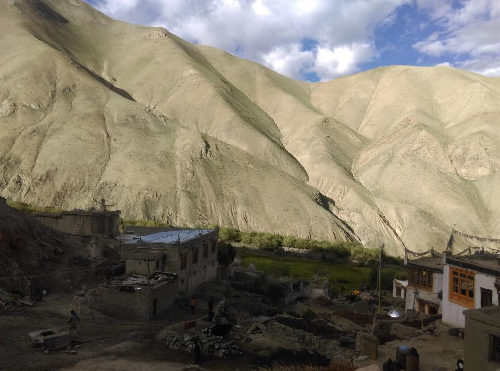 Weather uncertainties mean that villages in Ladakh can no more be dependent on agriculture  (Vani Manocha)