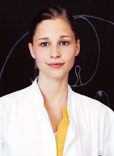The gut influences our mood :   Giulia Enders, two-time scholarship winner studying medicine at the Institute for Microbiology in
