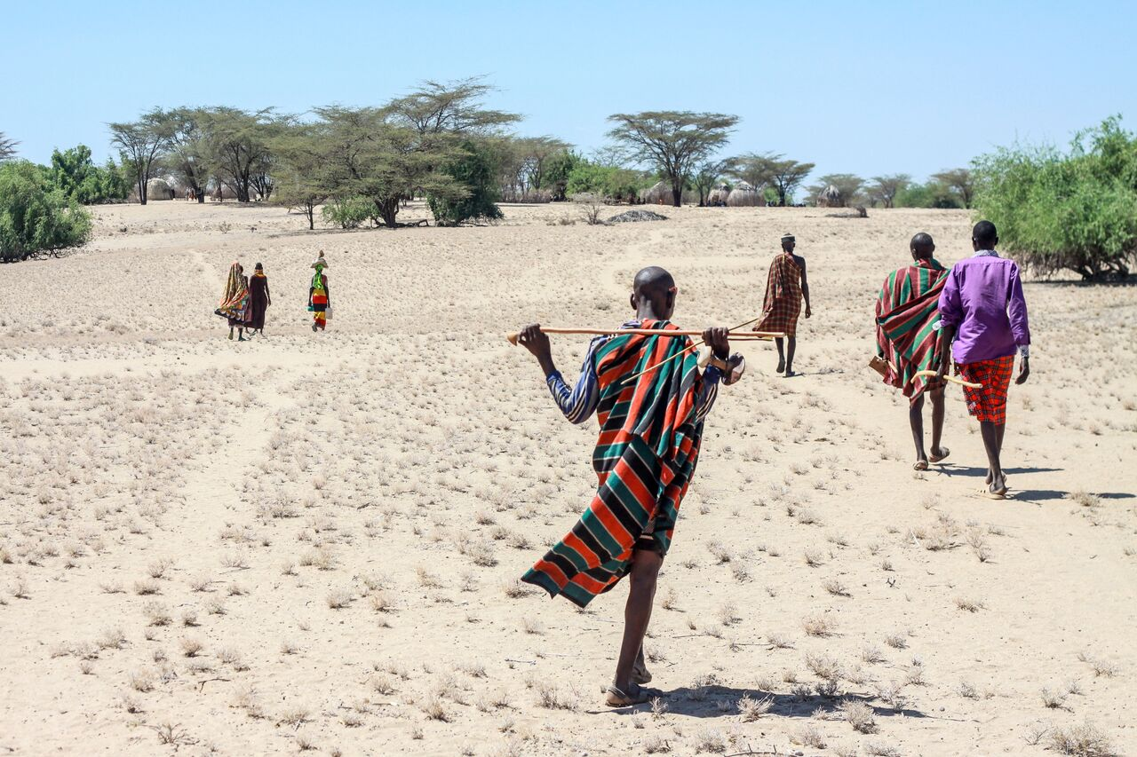 Turkana herdsmen in Kenya  Credit: Global Greengrants Fund
