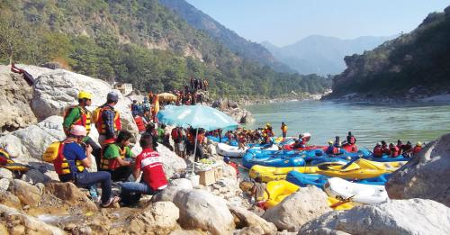 Rafting: in troubled waters
