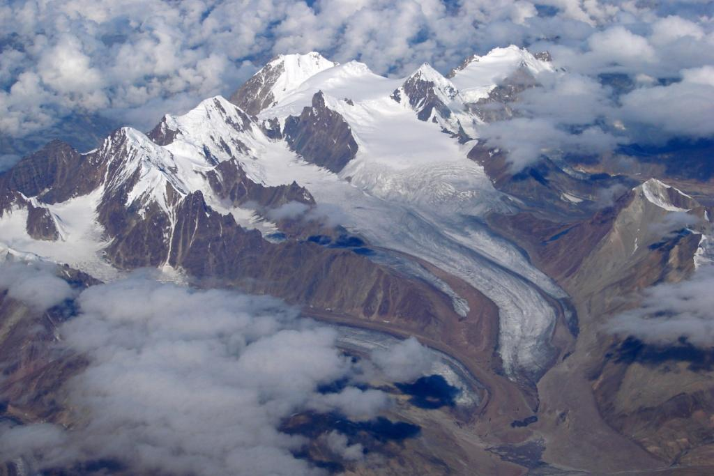 The Himalayas Credit: Flickr
