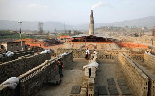 Cleaning Nepal, brick by brick