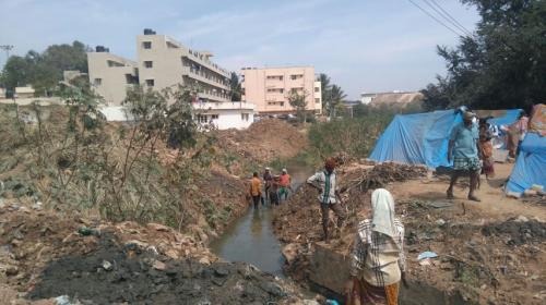 Citizen involvement may clean a Bengaluru lake