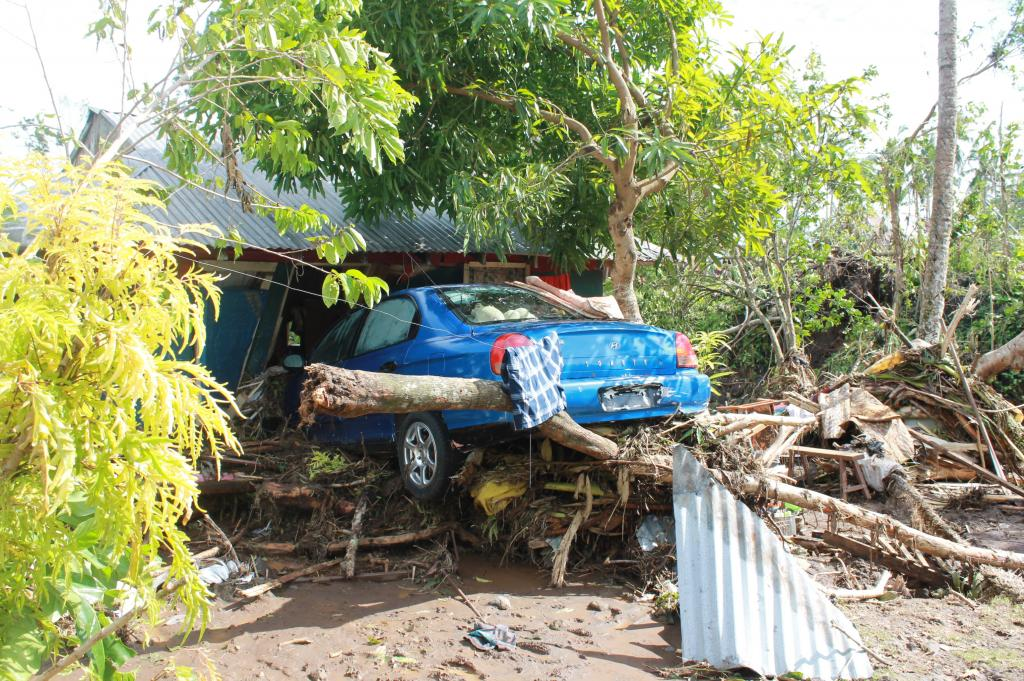 Cyclone Evan in Samoa in 2012 Credit: Flickr