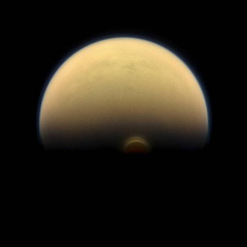 NASA spacecraft detects 'monster cloud' near south pole of Saturn's largest moon