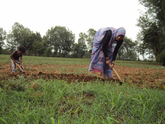 To understand how much we are connected to the earth, education about sustainable farming must start with children, says the author (Photo: Jitendra)