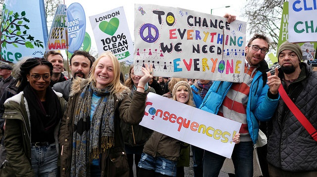 The world is eagerly waiting for a new climate deal Credit: Alisdare Hickson/Flickr