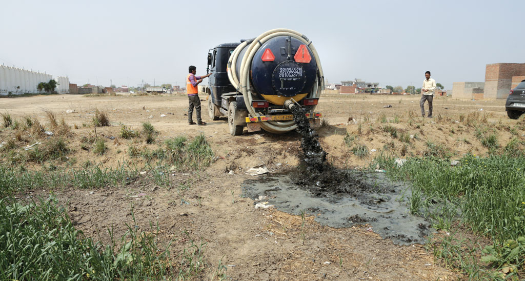 A vacuum