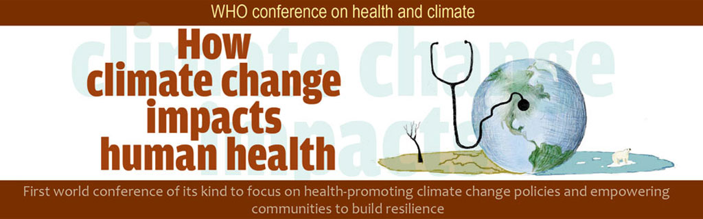 How climate change impacts human health