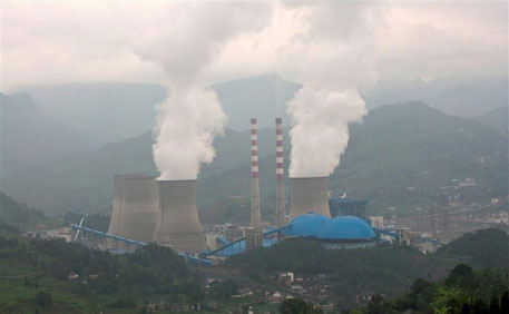 Pannan coal-fired power plant in China