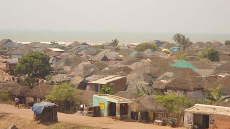 Seaside village in Paradip (Photo: Ashis Senapati)