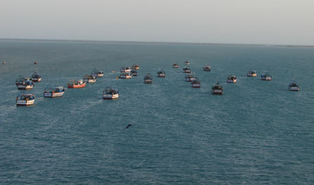 Hit by storm, 15 trawlers are missing in Bay of Bengal