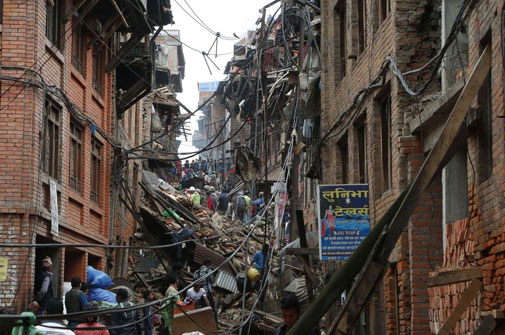 Nepal earthquake: reminder for India on structural safety