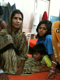 Cook Manju Devi and three other children will be released later because of poor treatment facilities back home