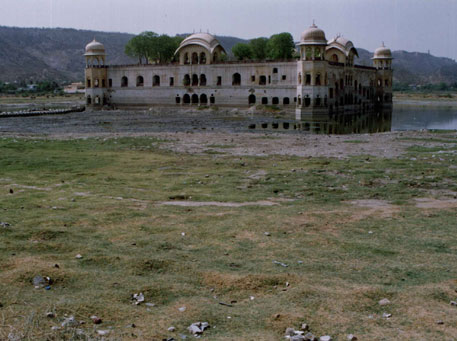 Mansagar lake reduced to a cesspool after diversion of city's wastewater in the 1960's