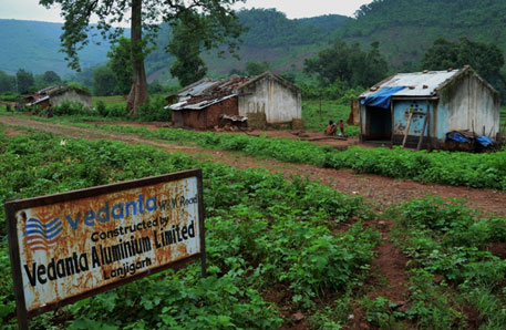 Vedanta's Lanjigarh refinery started a school, a child care centre and constructed roads inside Niyamgiri, as part of its corporate social responsibility, to ease entry for its bauxite mining project. The CSR project was abandoned due to stiff resistance from the locals