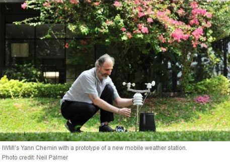 These mobile weather stations can help cope with floods, landslides