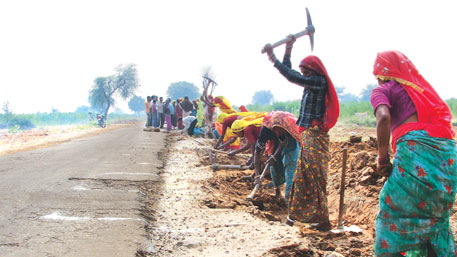 Bihar has little money to pay workers under MGNREGS