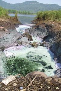 Mahad loses river, crops