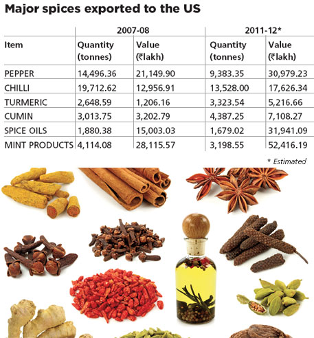 Red alert on Indian spices