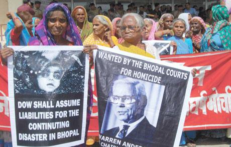 Bhopal's toxic waste raises stink