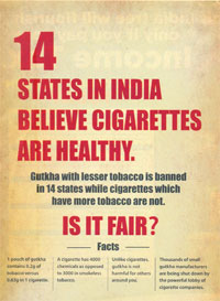 Ads term gutkha ban unfair