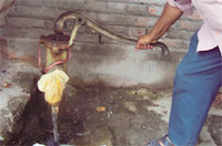 Water in Kadhibakha slum is contaminated with iron and E coli