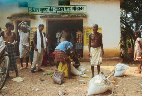 Ration card holders in Chhattisgarh are being refused foodgrains by fair price shop owners, forcing them to buy essential commodities from the open market at a higher price
