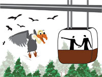 Ropeway threat to Girnar's vultures