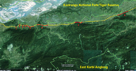 Flyovers for Kaziranga rhinos