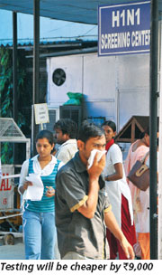 Cheaper H1N1 kits to hit market