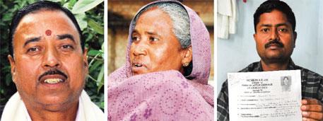 From left to right: Priyadarshini Shahi, head of Bihar Mukhiya Association, wants women mukhiyas trained; Sumitra Devi's husband was killed when he was elected mukhiya; sarpanch Mukesh Kumar did not get arms licence despite applying for it