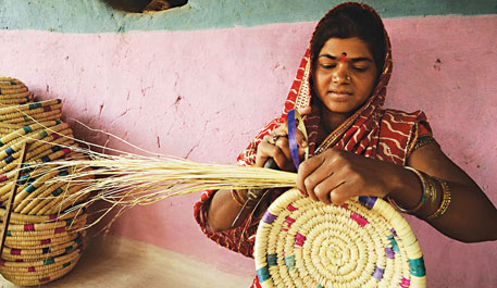 basket-making in Madhya Pradesh