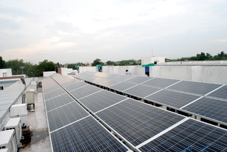 Delhi has over 31 sq km of rooftop space that can be used for solar projects