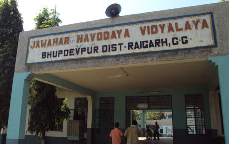 The students of Jawahar Navodaya School near Monnet Ispat constantly complain of eye itching and irritation problems because of heavy dust emissions of fine particulate matter