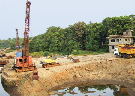 Push for sand mining