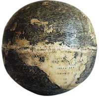 Dragon lands on ostrich egg