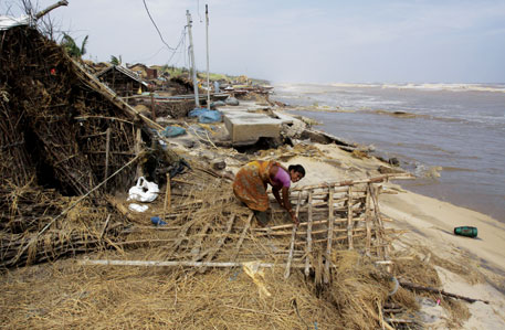 Cyclone Phailin ravaged over 300,000 houses in coastal Odisha in India's east coast, which the IPCC report says are among regions of maximum vulnerability