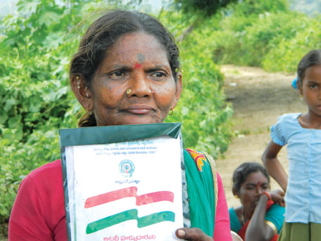 FRA's implementation is similar across the country. Some forest dwellers have got land titles  some are waiting for it