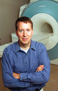 Neal Bangerter and his colleagues are developing new MRI methods for breast cancer screening