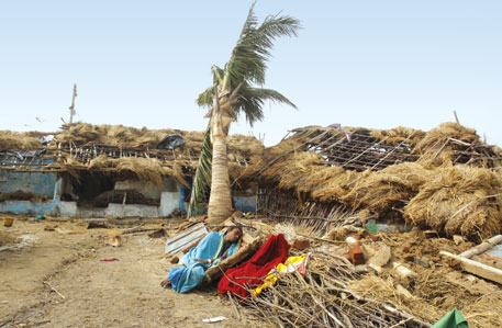 Three cyclones hit India's eastern coast in two months in 2013. The Warsaw climate talks offered no respite to the affected communities