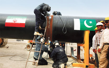 Iran has completed its stretch of the pipeline, while Pakistan has till December 2014 to finish its part