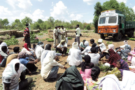 Village bullied for using its forest