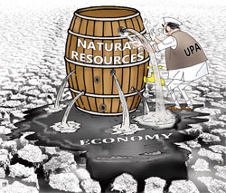 How natural resources doomed UPA