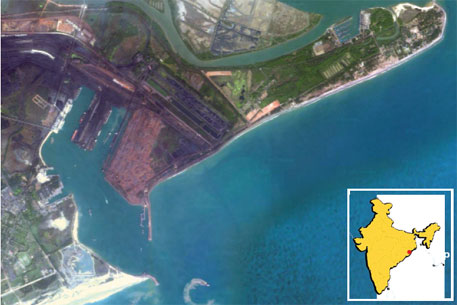 Two private ports are proposed near the Paradip port, already running below its capacity