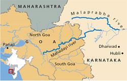 Karnataka to divert Mahadayi water